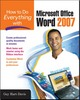 Thumbnail How to Do Everything With Microsoft Office Word 2007