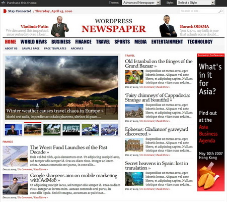 Product picture WP Advanced Newspaper GabfireThemes Premium Theme