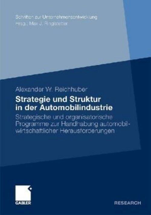 Product picture Strategie und Struktur in der Automobilindustrie: Strategisc